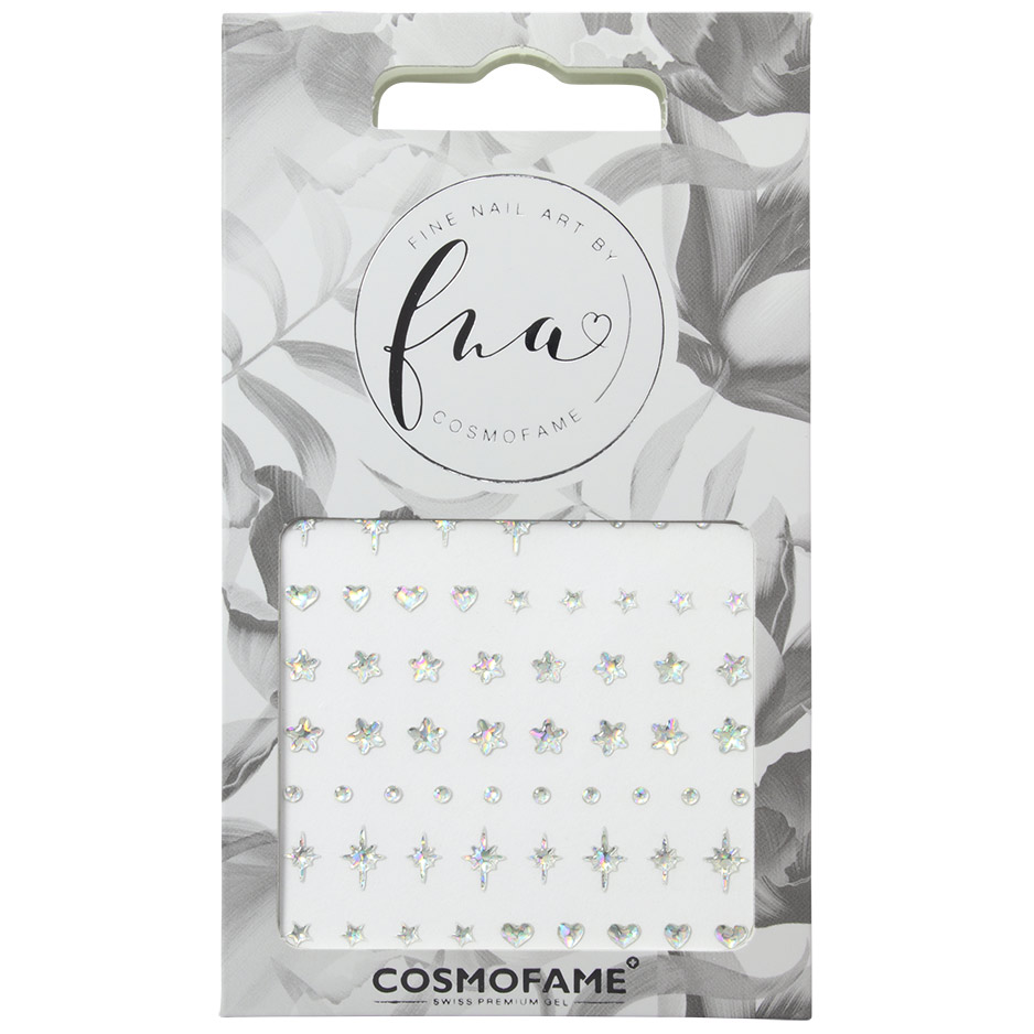 Nailart Sticker Clear 2 Cosmofame Cosmofame