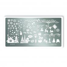 Stamping Templates Festive looks